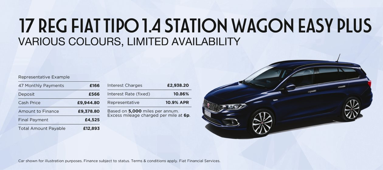 Fiat Tipo Station Wagon Offer