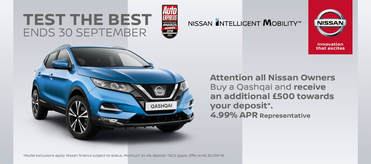 Nissan Test Drive Event