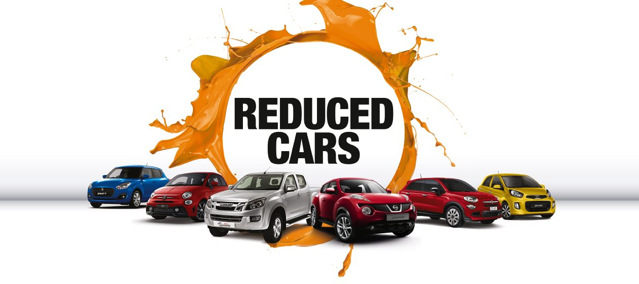 Big reductions on Fiat nearly new and used cars