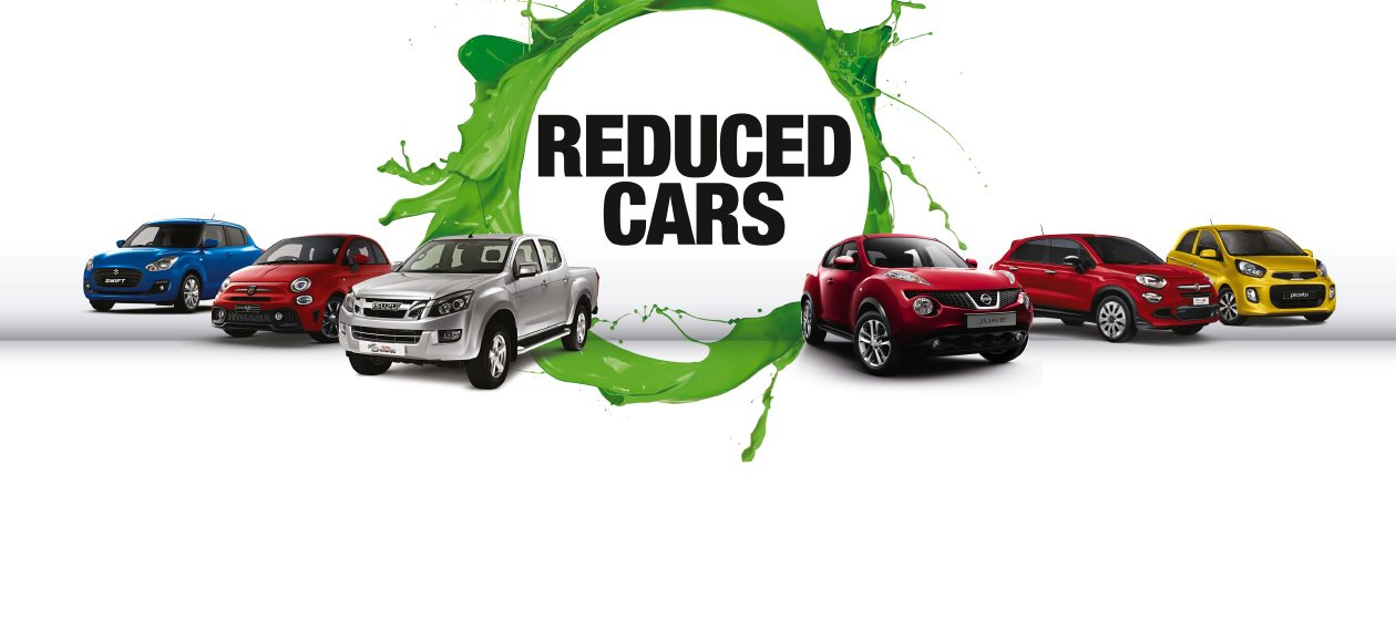 Big reductions on nearly new and used cars