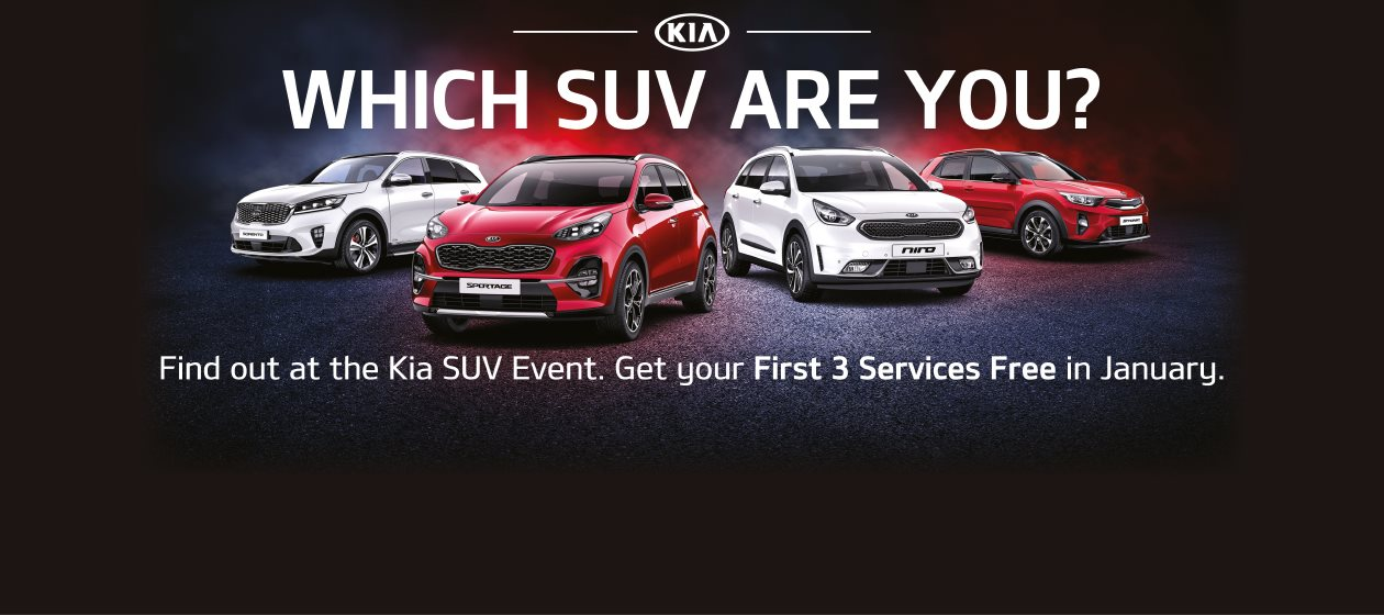 Kia SUV Event at FJ Chalke