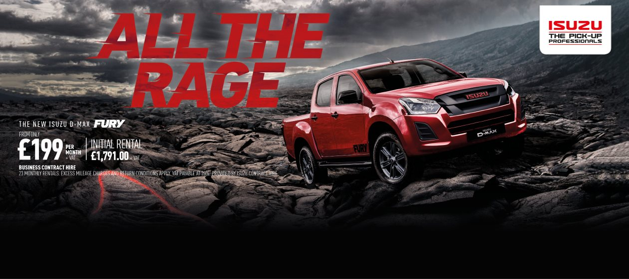 The New ISuzu D-Max Fury