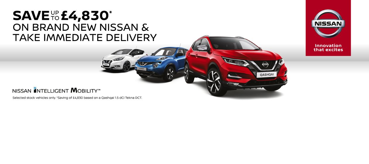 Nissan Stock List - Save up-to £4,830