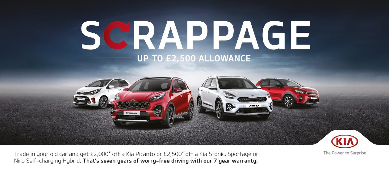 Go Electric with £2,500 Scrappage Allowance