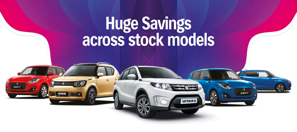 Suzuki Sale at Vale Motors