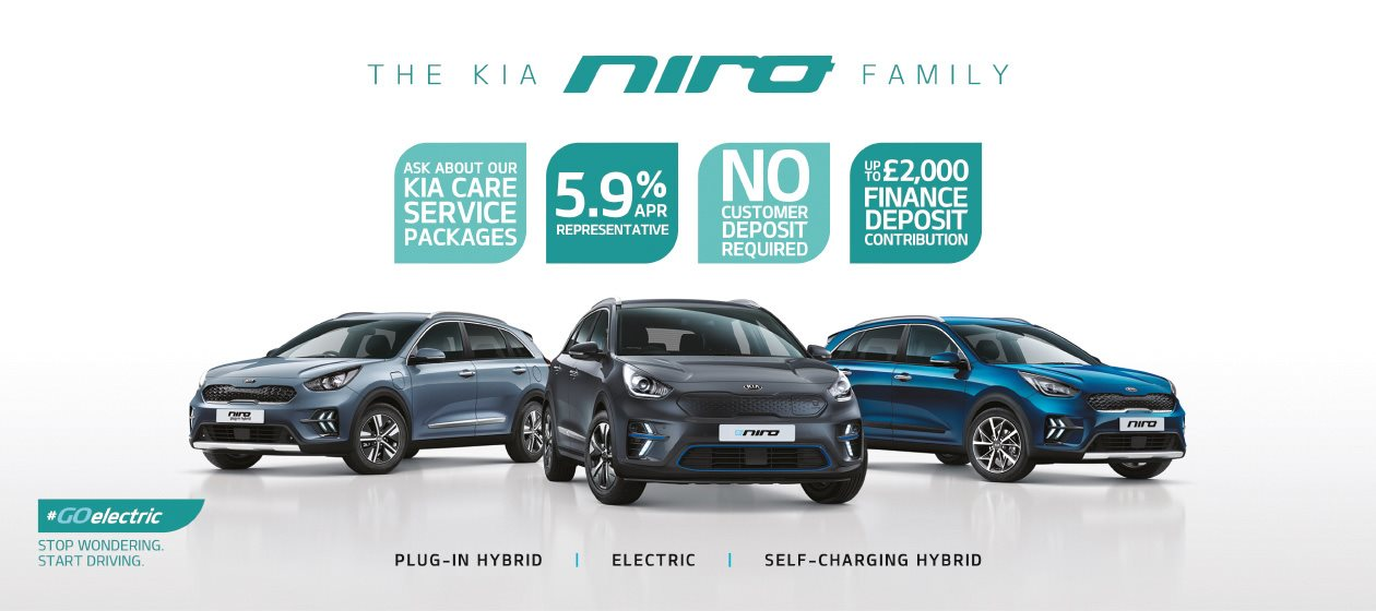 The Kia Niro Family