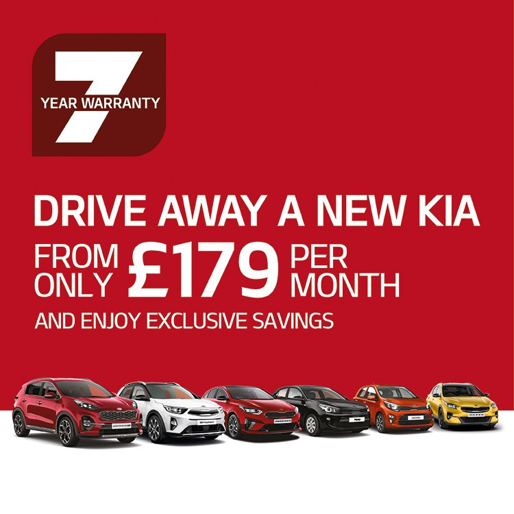 New Kia from £179 per month