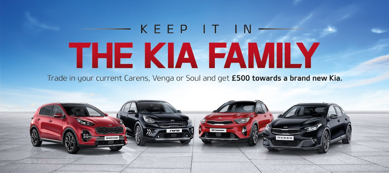 Trade in your Kia a brand new Kia