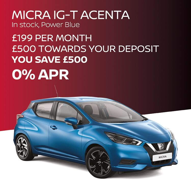 Nissan Micra Offers