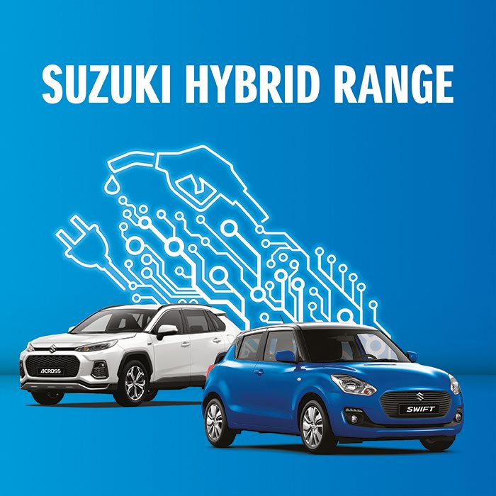 New Suzuki electric and hybrid cars