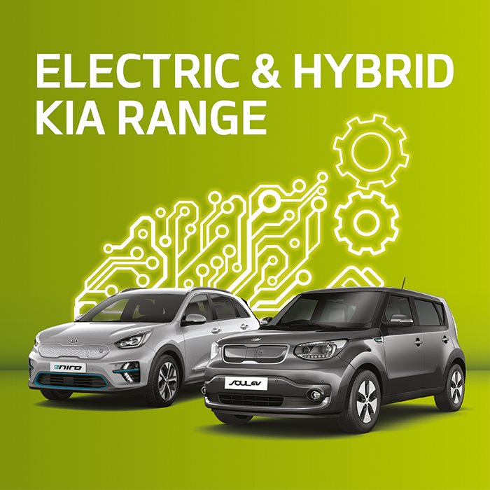 New Kia electric and hybrid cars