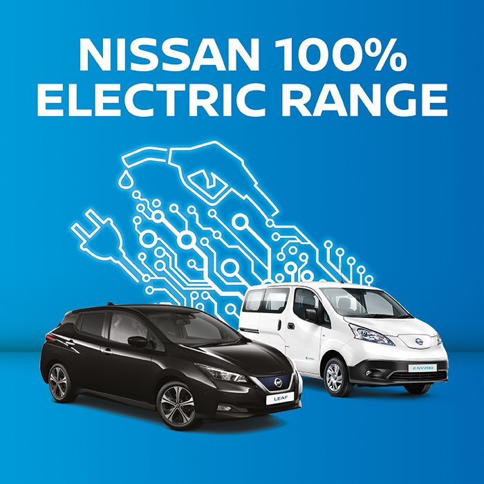 New Nissan electric and hybrid cars
