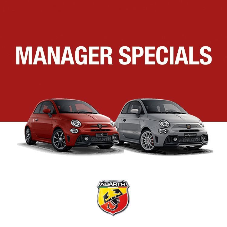 Abarth Managers Specials
