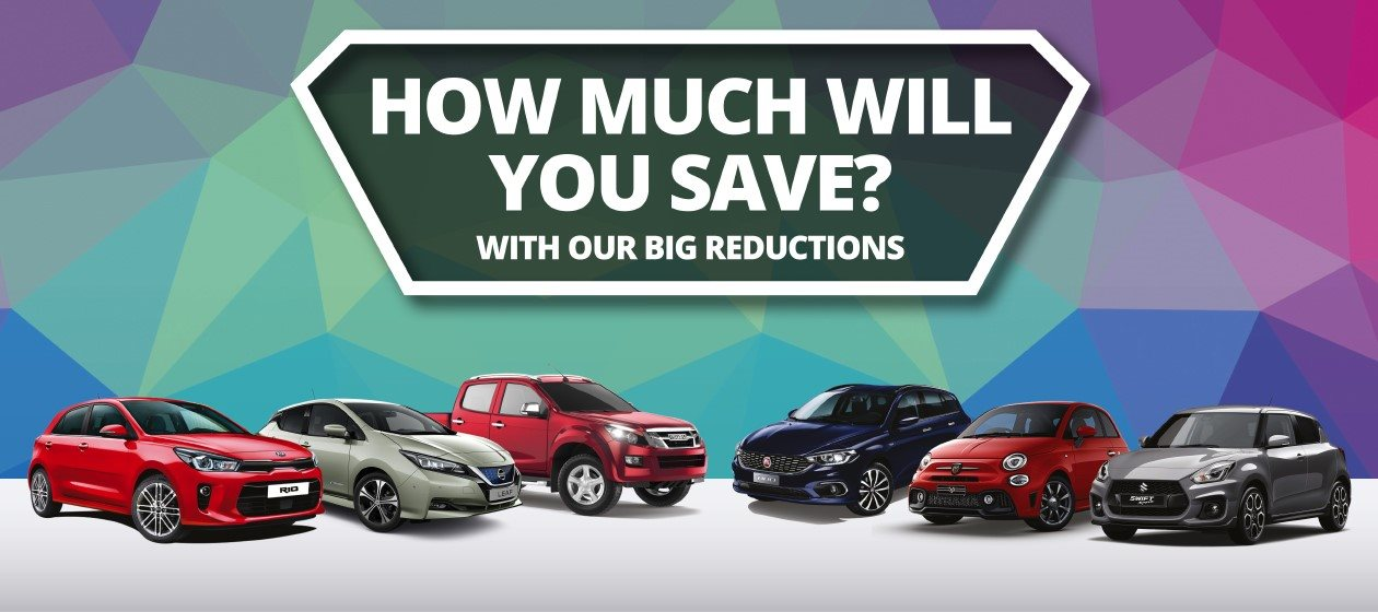 View our big reductions on our used cars