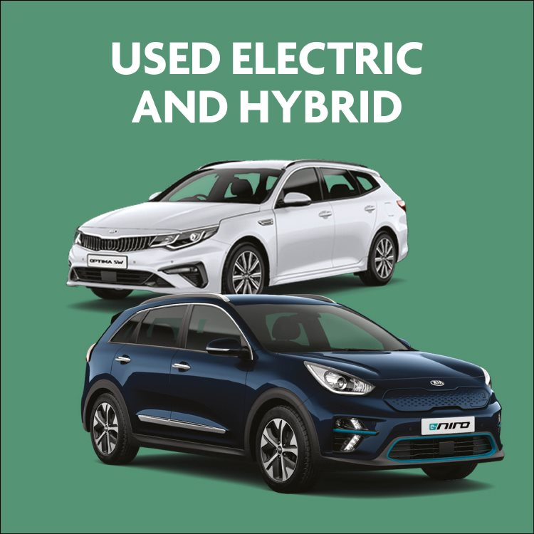 Used Kia electric and hybrid cars