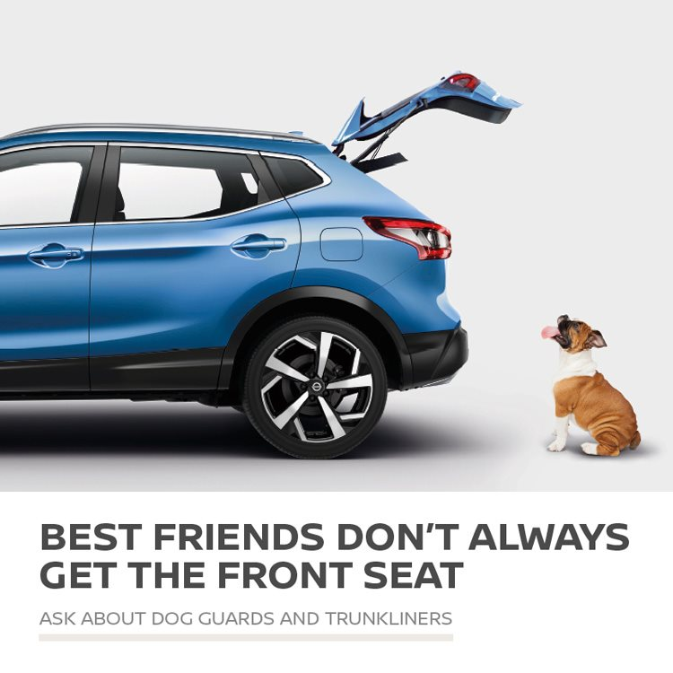 Nissan Dog Guards & Trunkliners