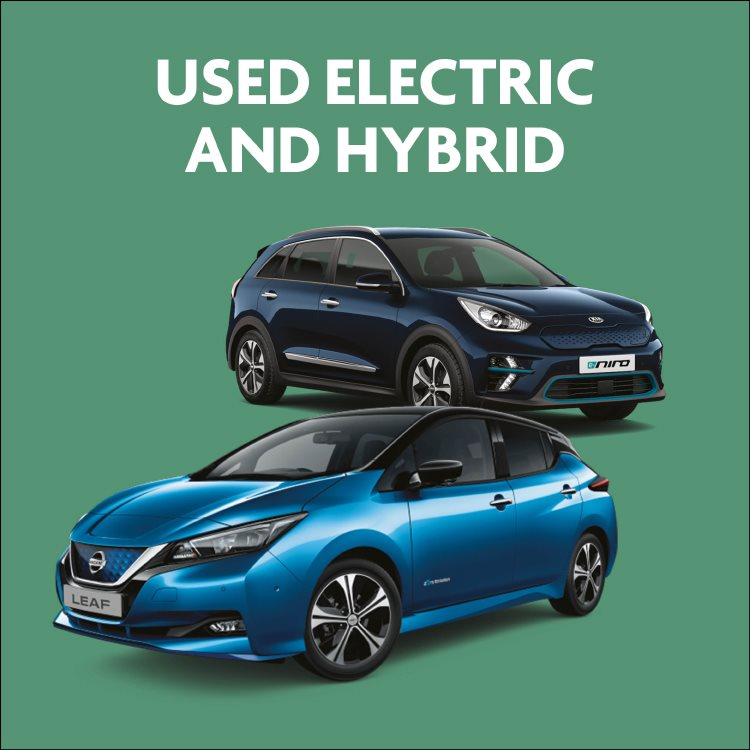 Used electric and hybrid cars