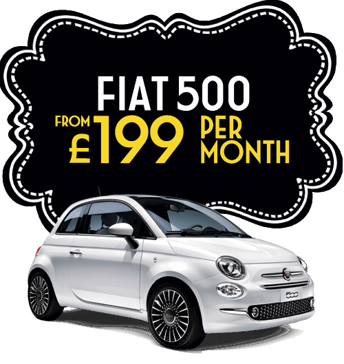 Fiat 500 from £199 per month