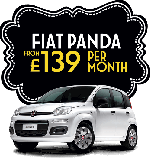 Fiat Panda from £139 per month