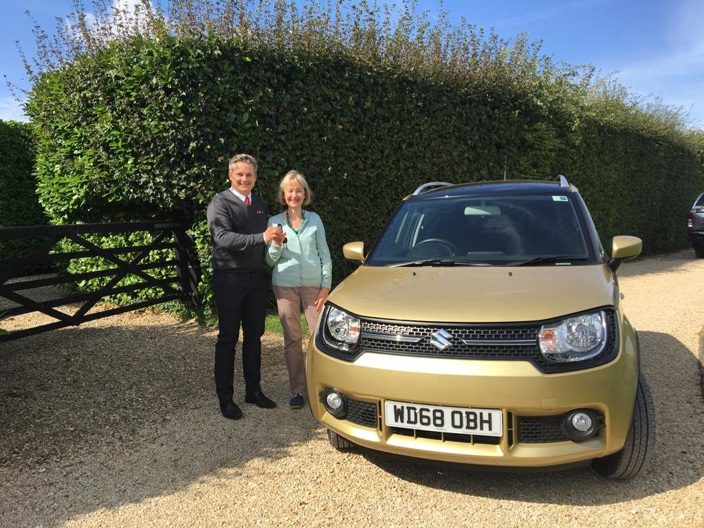 Win a Car Competition (now closed) at FJ Chalke and Vale