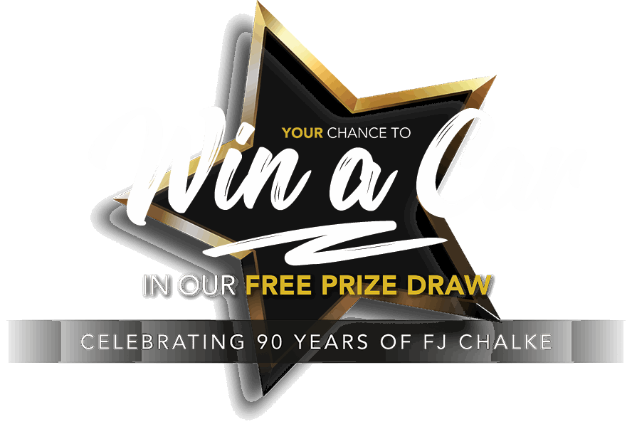 Win A Car Competition At FJ Chalke And Vale Motors