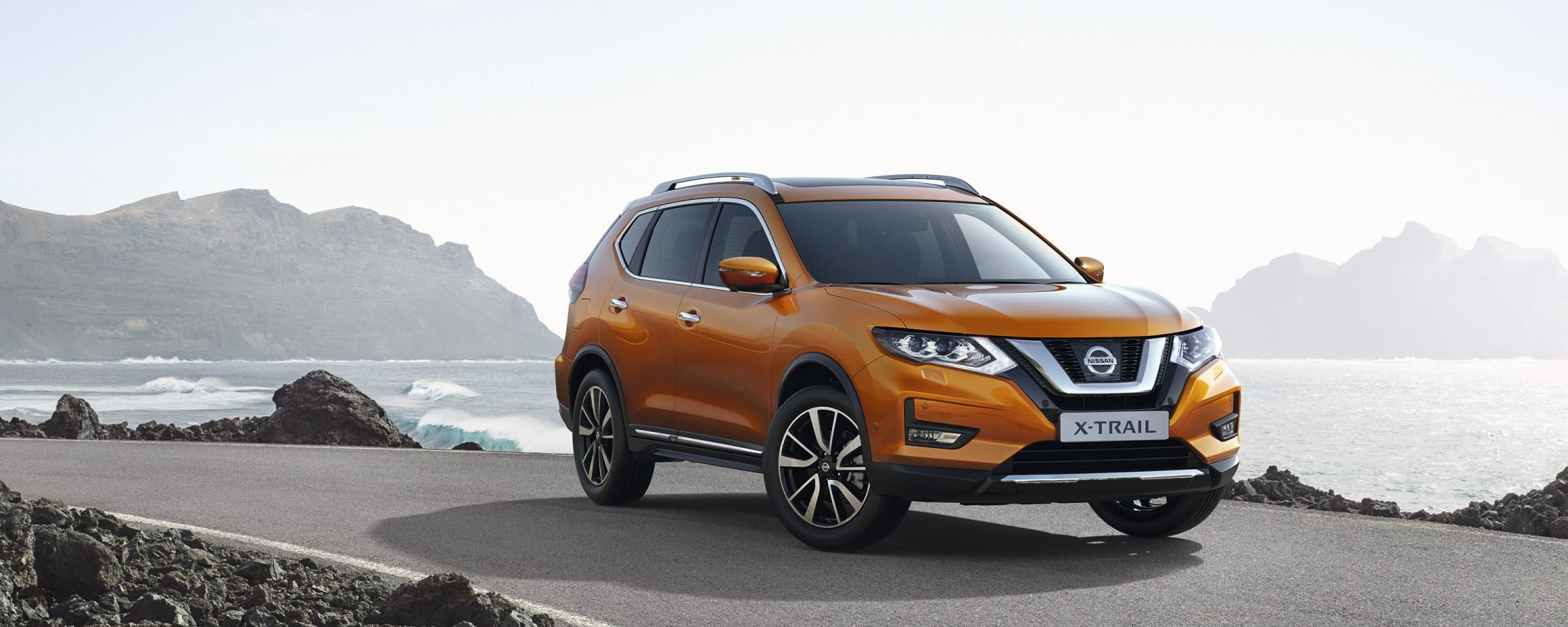 Nissan X-Trail Outside