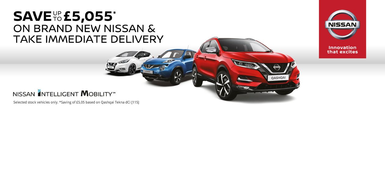 Nissan Stock List - Save up-to £5,055